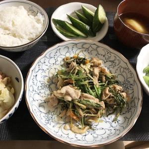 記事投稿出来てなかった~(泣´Д`)゚゚。&水菜と豚肉の味噌炒め