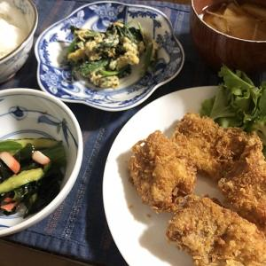 ジャンボ浜北柿&サクッとマグロカツ