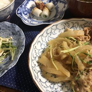 大失敗のお買い物(^^;)&大根と豚肉、春雨のピリ辛炒め