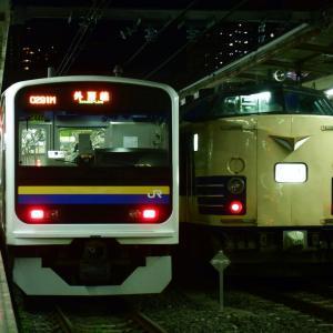 【過去画】千葉駅に現れた583系
