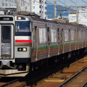 電車と気動車の協調運転 731系+キハ201系