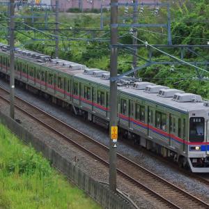 京成3500形 成田スカイアクセス線入線
