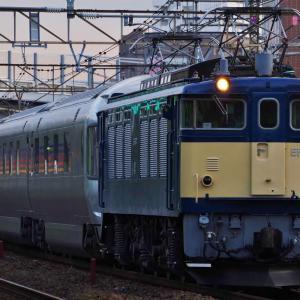 EF64-37牽引 カシオペア信州返却回送