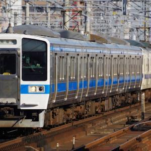 九州に残る415系8連運用