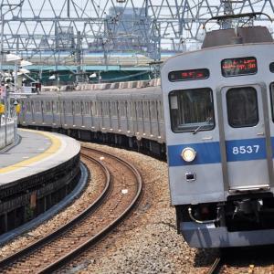 青帯 東急8500系8537F