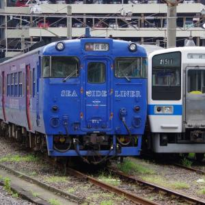 引退するキハ66・67系と415系