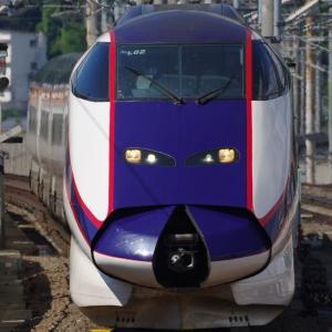 福島駅でやまびこ・つばさの連結を見る!
