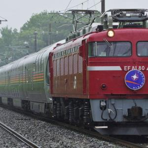 EF81-80牽引 カシオペア紀行盛岡行き