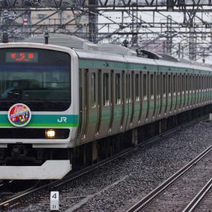 常磐線E231系 ホストタウンHM