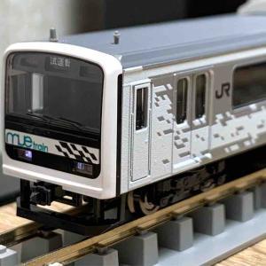 TOMIX 209系MUE-Trainタイプ 入線!