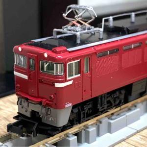 TOMIX ED75形700番台(後期型) 入線!