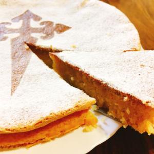 スペインのアーモンドケーキ:タルタ・デ・サンティアゴのレシピ