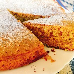 イタリアのアーモンドケーキ:トルタ・オルティガーラのレシピ