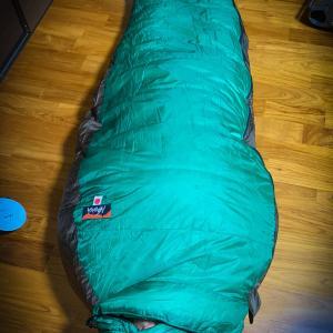 極寒用寝袋ドタバタ購入:ナンガオーロラライト900DX