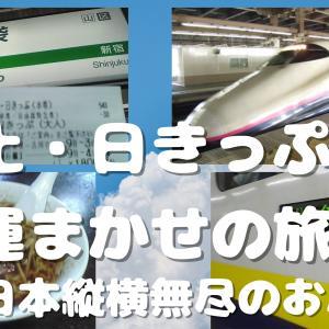 土・日きっぷ運まかせの旅:JR東日本縦横無尽のおバカ旅!