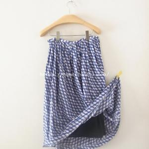 【簡単ソーイングのコツ】スカートには裏地を付けないで、ペチコートを用意しよう!