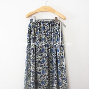 簡単!パターン(型紙)いらずのギャザースカート!