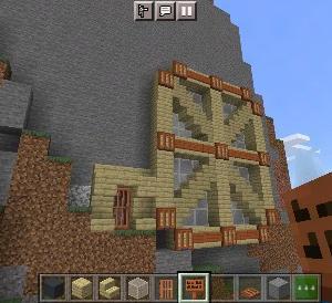 車輪型壁ハウスの作り方【マイクラ】