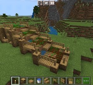 土と木だけの簡単初期建築の作り方【マイクラ】