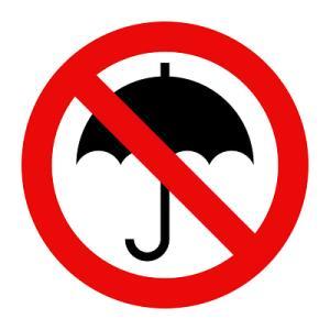 バンクーバーの人、傘ささないのねー