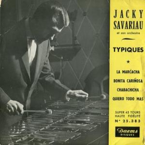 ★JACKY SAVARIAU et son ensemble (DAEMS - France)★