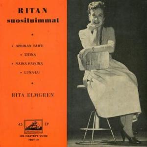 ★RITA ELMGREN / Ritan Suosituimmat (H.M.V- Finland)★