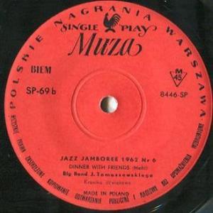 ★BIG BAND J. TOMASZEWSKIEGO /Jazz Jamboree 1962 Nr 6 (Muza - Poland) ★