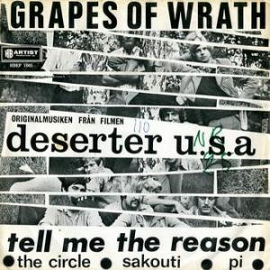 ★ Deserter U.S.A / GRAPES OF WRATH  (ARTIST HBEP - Sweden) ★