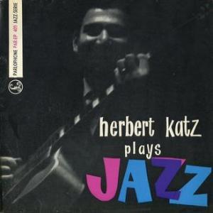★HERBERT KATZ / PLAY S JAZZ (Parlophone - Finland)★