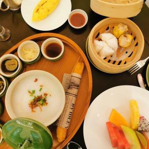 Raffles Singapore 宿泊記 朝食@Tiffin Room & プール編