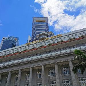 The Fullerton Singapore マリーナベイの象徴的ホテル宿泊記