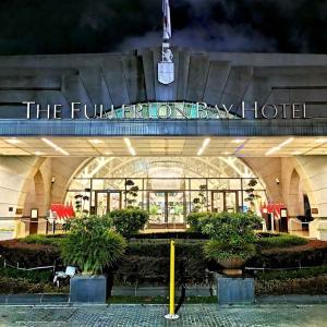 The Fullerton Bay Singapore 新旧両方の良さがある美しいホテル宿泊記