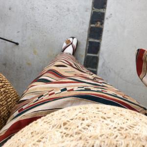 【着物コーデ帳】台湾成分を補充する日の秋浴衣コーディネート