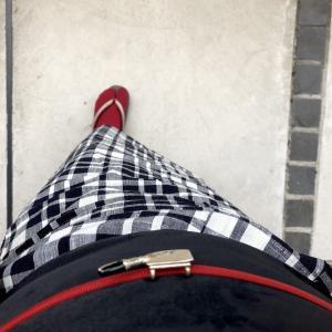 【着物コーデ帳】木綿着物で青山ブックセンターに岸田奈美さんのエッセイを買いに☆