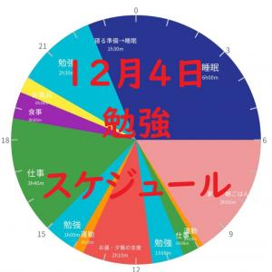 英検準1級勉強スケジュール 12月4日金曜日