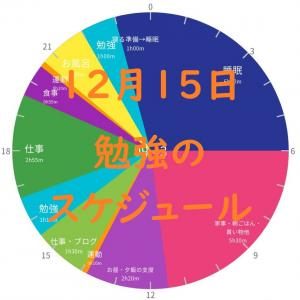 英検準1級勉強スケジュール 12月15日 火曜日