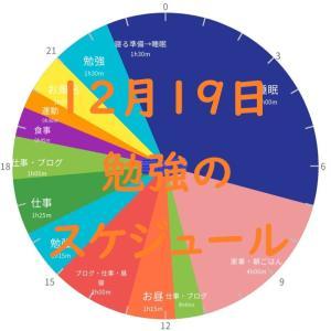 英検準1級勉強スケジュール 12月19日 土曜日
