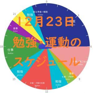 英検準1級勉強スケジュール 12月23日 水曜日