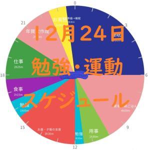 英検準1級勉強スケジュール 12月24日 木曜日