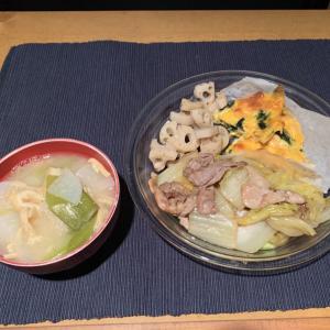 2/24 白菜と豚肉のうま煮