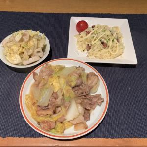 2/25 昨日に引き続き 白菜と豚肉のうま煮