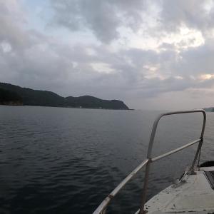 長崎県鷹島日比一文字波止のカゴ釣り