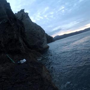 長崎県式見沖 神楽島穴の前 石鯛狙い