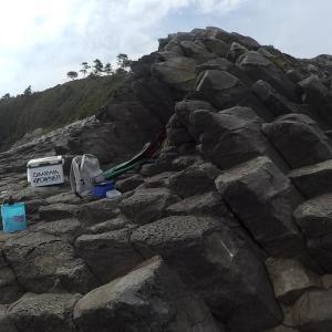 佐賀県唐津市屈指の荒磯 七つ釜で石鯛狙い!