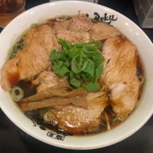 麺屋 丈六/中華そば 大盛 & 早寿司