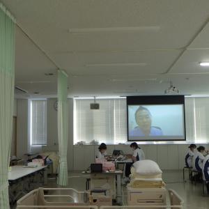 成人看護学実習Ⅱ~医師によるZOOMを使った臨床講義