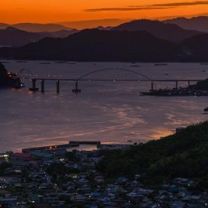 福山の夕日④2020.10.7