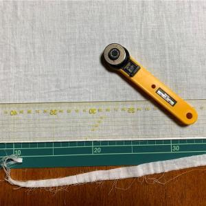 布の直線断ちはロータリーカッターでスパッと切ろう