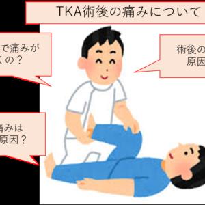 人工膝関節置換術(TKA)の術後の痛みについて~痛みの原因と痛みを感じる時期について~