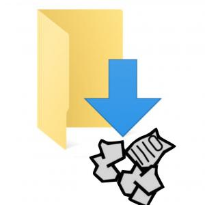 知らないうちに「ダウンロード」フォルダにファイルが保存されている?